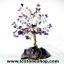 ต้นไม้มงคล หินอเมทิสต์ ใช้เสริมฮวงจุ้ย โต๊ะทำงาน (285g) thumbnail 1