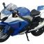 1/12 Complete Motorcycle Model SUZUKI GSX R1000 (Blue)(Tentative Pre-order) thumbnail 2