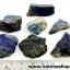 ลาพิส ลาซูลี่ Lapis Lazuli ก้อนธรรมชาติ 7 ชิ้น (107g) thumbnail 1