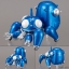 Ghost in the Shell - TokoToko Tachikoma Returns Metallic ver.(Pre-order) thumbnail 1