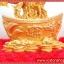 ▽ต้มไม้มงคลซิทริน Citrine เหรียญจีนทอง (size L) thumbnail 3