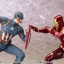 ARTFX+ - Captain America Civil War: Captain America Civil War 1/10 Easy Assembly Kit(Pre-order) thumbnail 10