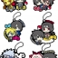 Rubber Mascot - NARUTO Shippuden Sasuke Special! 6Pack BOX(Pre-order) thumbnail 1