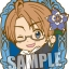 Hetalia The Beautiful World - Trading Rubber Strap 12Pack BOX(Pre-order) thumbnail 5
