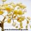 ต้นไม้มงคล หินหยกน้ำผึ้ง+ควอตซ์ ใช้เสริมฮวงจุ้ย โต๊ะทำงาน (527g) thumbnail 10