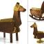 Love Toys Vol.3 Sankaku Mokuba Wooden horse 1/12 Unpainted Assembly Kit(Pre-order) thumbnail 1