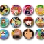 Mahojin Guru Guru - Trading Can Badge 12Pack BOX(Pre-order) thumbnail 1