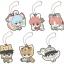 Rubber Mascot Gintama Hata-ouji no Animal Paradise 6Pack BOX(Pre-order) thumbnail 1