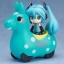 Nendoroid Plus - Hatsune Miku x CuteRody Gekisou! Pullback Car: Miku Hatsune & Cute Rody (Mint)(Pre-order) thumbnail 2