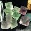 =หินฟลูออไรท์ (Fluorite) ขนาดเล็กในขวดแก้วจุกก๊อก thumbnail 2