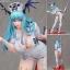 Capcom Figure Builder Creator's Model - Darkstalkers Morrigan Aensland (Nurse Ver.) Complete Figure(Pre-order) thumbnail 1