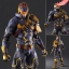 Variant Play Arts Kai - Marvel Universe: Cyclops(Pre-order) thumbnail 1