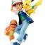 G.E.M. Series - Pokemon: Ash & Pikachu & Charmander Complete Figure(Pre-order) thumbnail 2