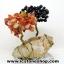 ▽ต้นไม้คู่มงคล หินคาร์เนเลี่ยน-โกเมน-ฐานควอตซ์ ใช้เสริมฮวงจุ้ย โต๊ะทำงาน (214g) thumbnail 4