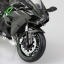 1/12 Complete Motorcycle Model Kawasaki Ninja H2(Released) thumbnail 5