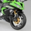 1/12 Complete Motorcycle Model Kawasaki Ninja ZX-6R 2014 (Lime Green)(Released) thumbnail 2