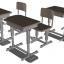 LittleArmory (LD013) Specified Defense School Desk(Pre-order) thumbnail 1