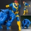 ARTFX+ - MARVEL UNIVERSE: Cyclops & Beast 2Pack 1/10 Easy Assembly Kit(Pre-order) thumbnail 1