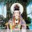 ▽[โปรโมชั่น] ภาพเทพเจ้าแม่กวนอิม ทำจากพลอยและหิน (ขนาดรวมกรอบ 41x51 นิ้ว.) thumbnail 2