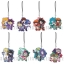 Yu-Gi-Oh Series Pair Clear Rubber Strap 8Pack BOX(Pre-order) thumbnail 1