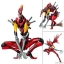 "Revoltech EVANGELION EVOLUTION EVA-02 Beast Mode 2nd Form ""The Beast""(Pre-order) thumbnail 1"