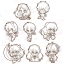 Rumic Collection Rubber Strap Collection 2nd SEASON 8Pack BOX(Pre-order) thumbnail 1