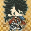 es Series nino Rubber Strap Collection - Touken Ranbu Unit 1 8Pack BOX(Pre-order) thumbnail 8