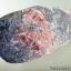 ▽เพชรหน้าทั่ง มีโรโดไนต์ (Pyrite with Rhodonite) (650g) thumbnail 2