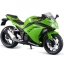 1/12 Complete Motorcycle Model Kawasaki Ninja 250 Lime Green(Back-order) thumbnail 1