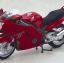 1/12 Complete Motorcycle Model Honda CBR1100XX Super Black Bird (Red)(Released) thumbnail 1