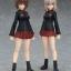 figma - Girls und Panzer the Movie: Maho Nishizumi & Erika Itsumi Set(Pre-order) thumbnail 2