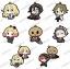 Satsuriku no Tenshi - Trading Rubber Strap 8Pack BOX(Pre-order) thumbnail 1