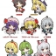 Pentako - Touhou Project Trading Rubber Strap Vol.1 Reprint Edition 8Pack BOX(Pre-order) thumbnail 1