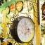 นาฬิกาแต่งบ้านวินเทจ Welcome สไตล์โบราณเก๋ๆสีดำ thumbnail 1
