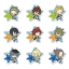 "es Series nino Clear Brooch Collection - Anime ""THE IDOLM@STER SideM"" vol.1 10Pack BOX(Pre-order) thumbnail 1"