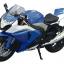 1/12 Complete Motorcycle Model SUZUKI GSX R1000 (Blue)(Tentative Pre-order) thumbnail 1