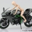 1/12 Complete Motorcycle Model Kawasaki Ninja H2(Released) thumbnail 4