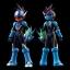 4 Inch Nel - Mega Man Star Force: Shooting Star Mega Man Action Figure(Pre-order) thumbnail 3