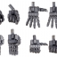 M.S.G Modeling Support Goods - Hand Unit Wild Hand 2(Pre-order) thumbnail 2