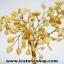 ต้นไม้มงคล หินหยกน้ำผึ้ง+ควอตซ์ ใช้เสริมฮวงจุ้ย โต๊ะทำงาน (527g) thumbnail 6