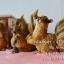 ตุ๊กตาเรซิ่นแต่งสวน รูปกระรอก 4 ตัว thumbnail 1