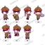Gokuto Jihen - Trading Rubber Strap 8Pack BOX(Pre-order) thumbnail 1