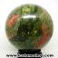 ▽ยูนาไคต์ (Unakite) ทรงบอล หินทรงกลม 7.6 cm thumbnail 5