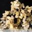 ต้นไม้มงคล หินไหมทอง ฐานควอตซ์สีน้ำนม ใช้เสริมฮวงจุ้ย โต๊ะทำงาน (1.3Kg) thumbnail 9