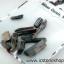 ▽ไหมแดง Red Rutile Needle Cryatal-Brazil (12ชิ้น) thumbnail 2