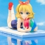 THE IDOLM@STER Cinderella Girls - Momoka Sakurai [Summer Mademoiselle]+ 1/7 Complete Figure(Pre-order) thumbnail 5