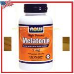Melatonin 5 mg 180 Capsules Now Foods