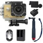 X1000 Gold +Extra Battery+Dual Charger+Protective Lens+TMC Selfie (Red)