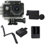 X1000 (Black) +(Extra Battery+DualCharger+3 Way+ProtectiveLens)