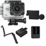 X1000 (White) +(Extra Battery+DualCharger+3 Way+ProtectiveLens)